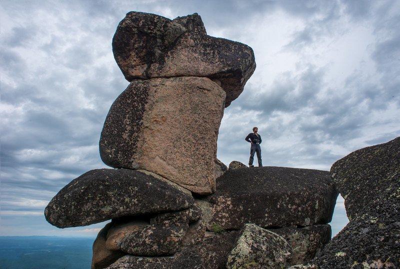 скала мана белогорье кутурчинское утро лето скульптура фигура Природная скульптураphoto preview