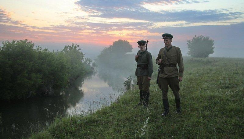 вов, пограничники, 22 июня. война, восход, утро, граница,  великая отечественная война, 22 июня, ровно в 4 часа...photo preview