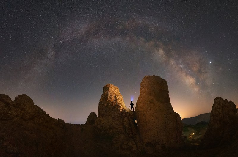 nightscape milkyway panorama Night Dreamphoto preview