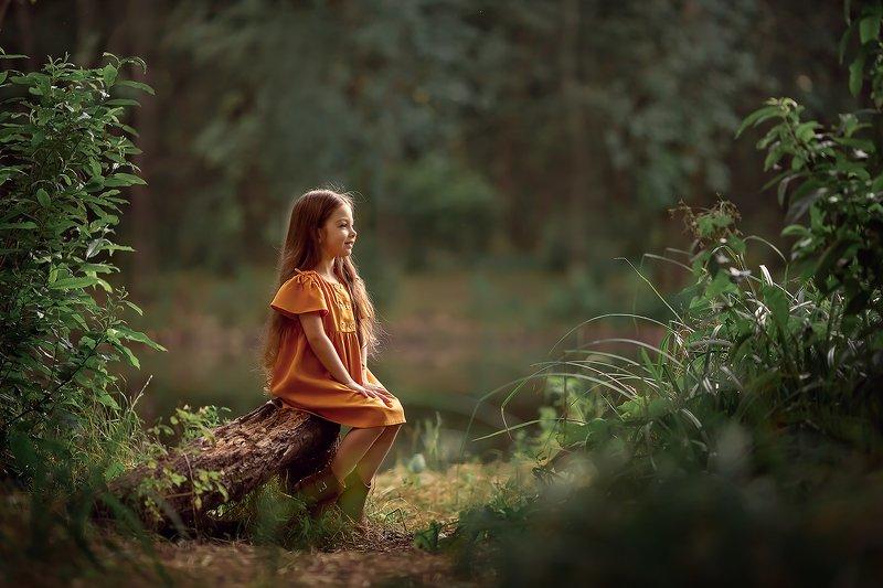 девочка природа ***photo preview