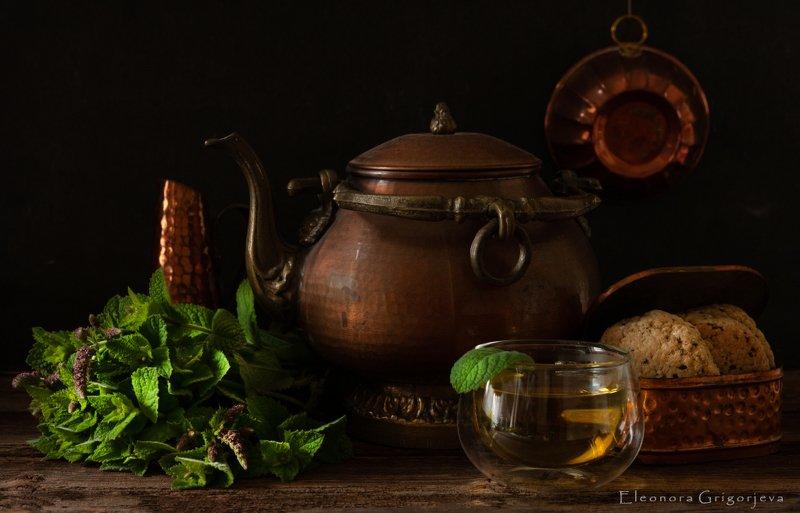 Чай с мятойphoto preview