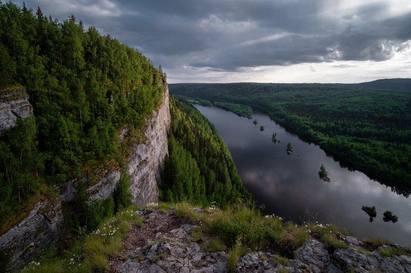вишера, ветлан, урал, пермскийкрай, пейзаж, природа, река Вечерняя Вишераphoto preview