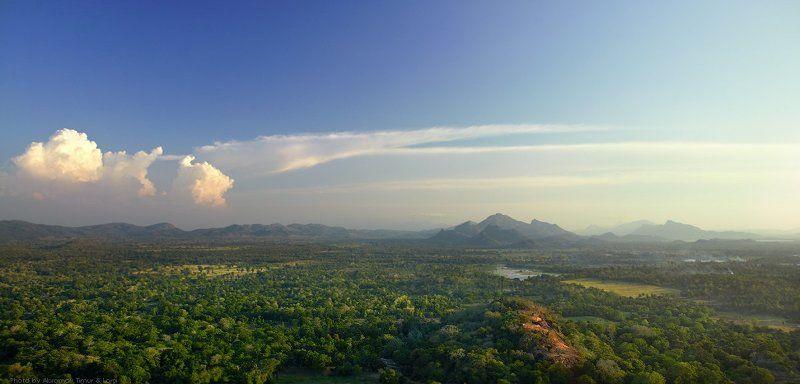 шри-ланка, цейлон, сигирия, пейзаж Вечерняя Шри-Ланкаphoto preview