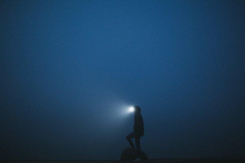 ночь свет туман  В тумане мыслейphoto preview