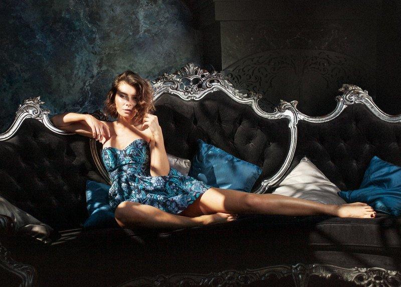 портрет, фешн, фешн портрет, студийный портрет, мода no namephoto preview
