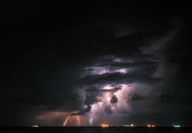 Ночь на д Азовом...photo preview