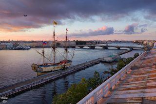 Линейный корабль Полтава, Английская набережная