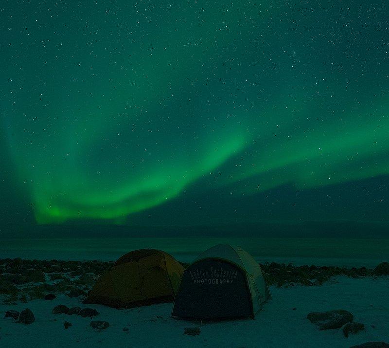 лофотены, северное сияние, lofoten, aurora Сияние 6, с палатками :)photo preview