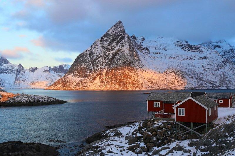lofoten, norway, sunrise, travel, путешествие, норвегия, лофотены  Лофотенские красотыphoto preview