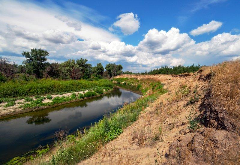 Река Бузулук.photo preview