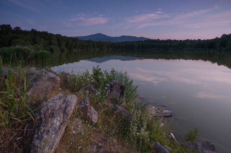гор, синюха, горная _колывань, вечер, озеро, мармашное Синюхаphoto preview