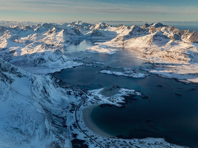 путешествие, полет, острова, Норвегия, лофотены, lofoten, travel, norway, landscape Под небом голубымphoto preview