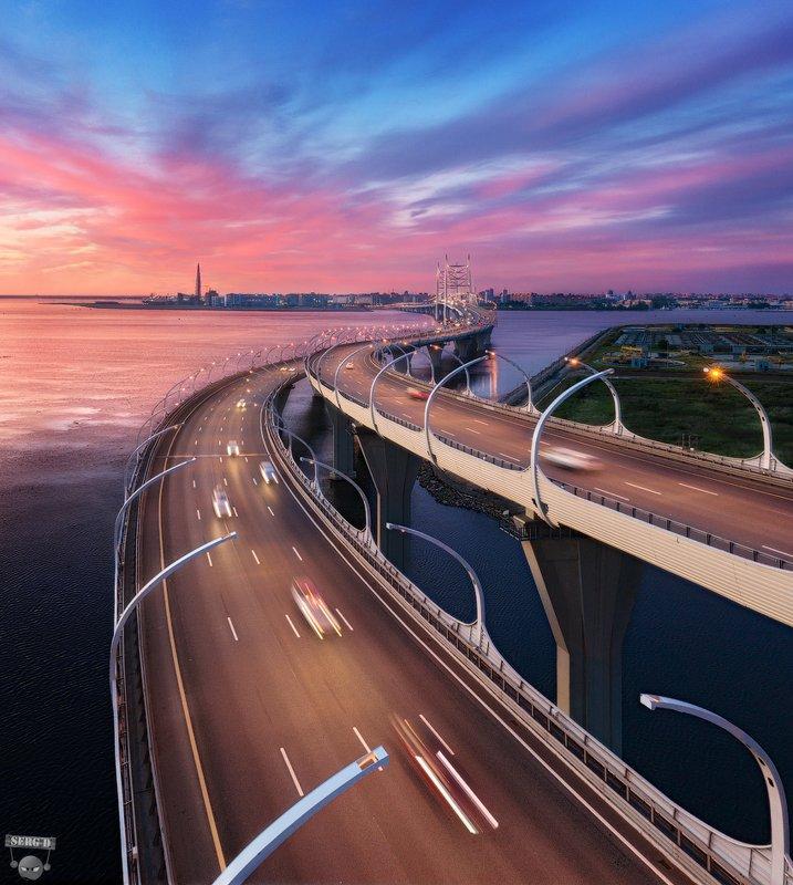 Центральный участок ЗСД, мост через Корабельный фарватерphoto preview