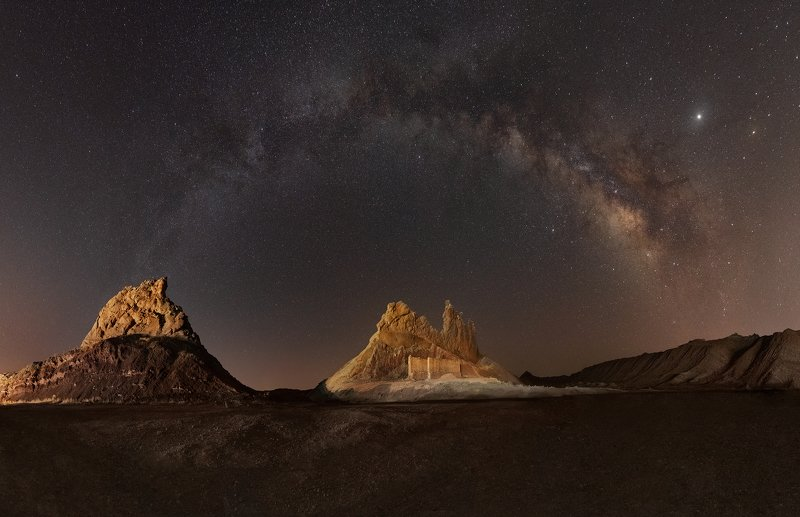 landscape milkyway panorama Milkyway  Panoramaphoto preview