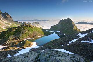 озеро Верхняя Запятая