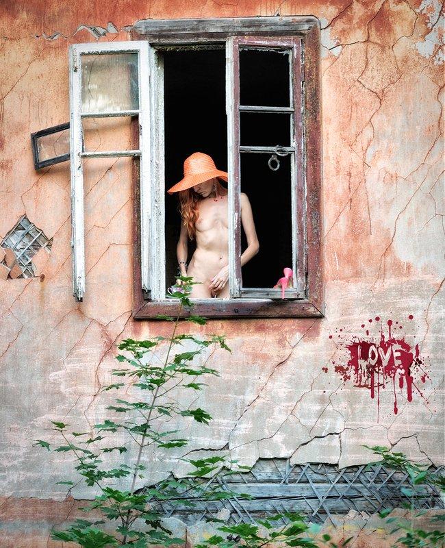 Красная Шапочка давно предлагала бабушке сменить окна ,но денег всегда хватало только на шапочки и тапочки...photo preview