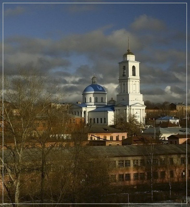 март,город,церковь Мартphoto preview