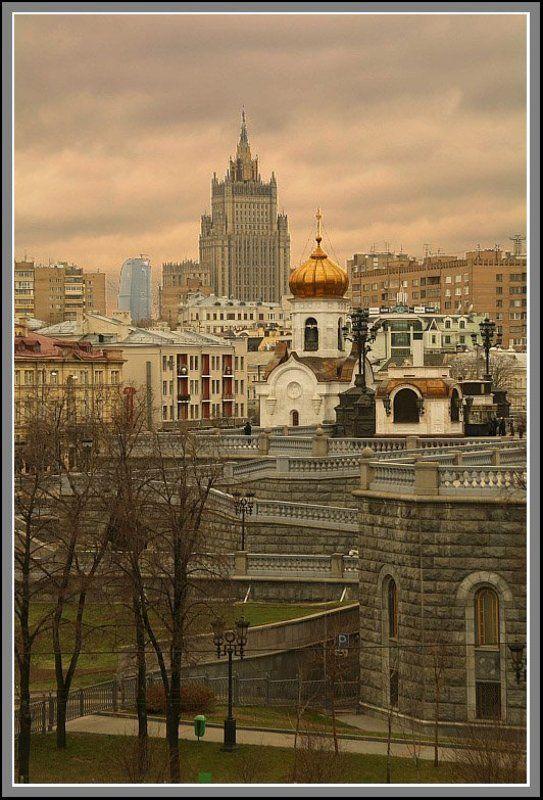 город, москва, застройка Поколения времениphoto preview
