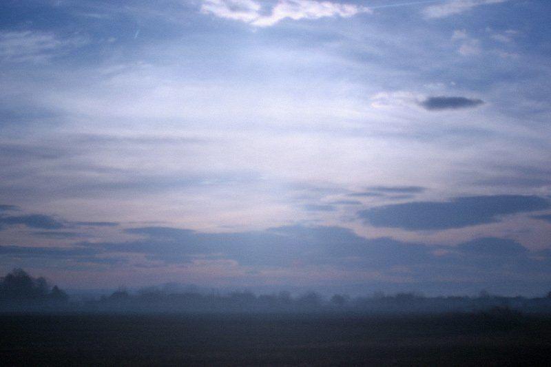 туман, утро, сербия, облака, небо Сербия #3photo preview