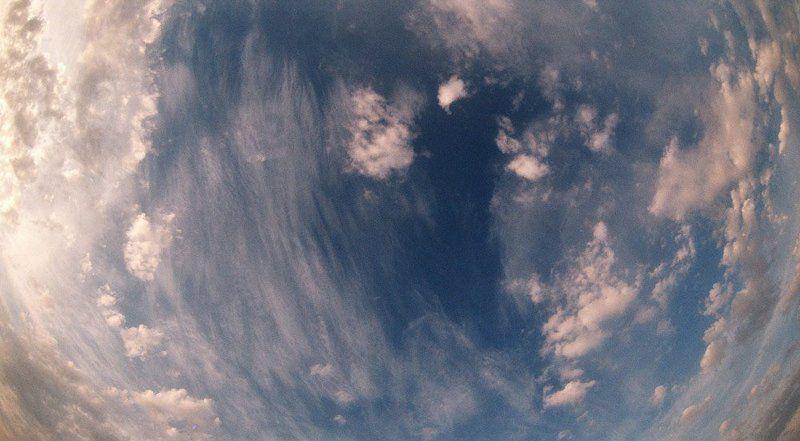 небо, синее небо 16:9photo preview