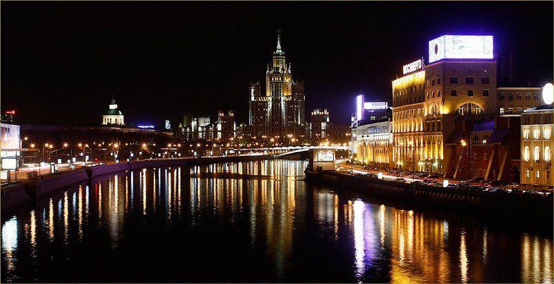 москва Прогулки по вечерней Москвеphoto preview