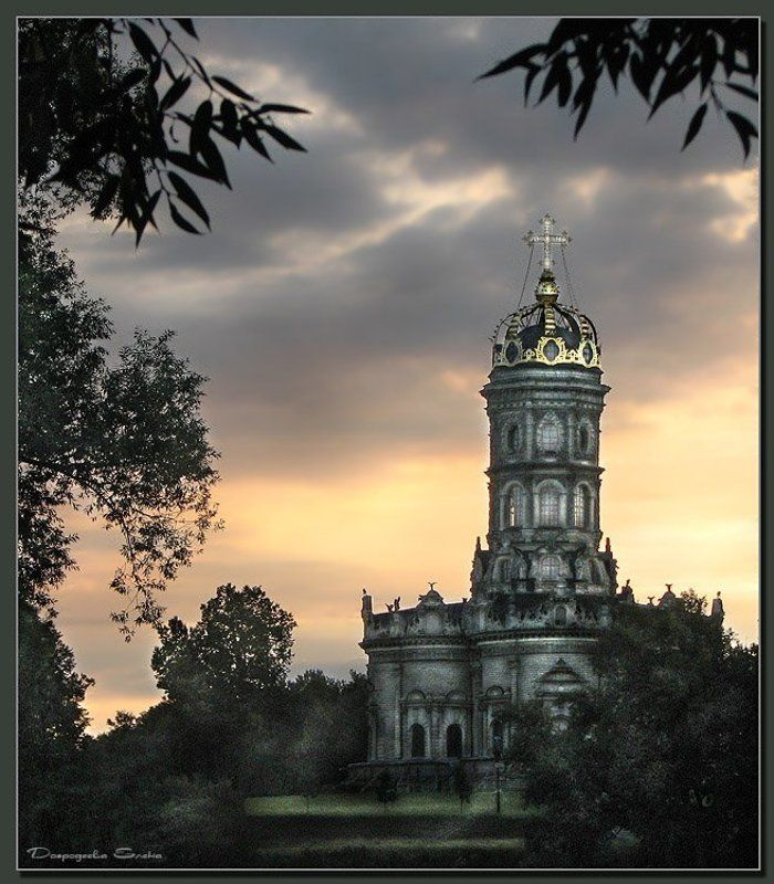 дубровицы,церковь Загадочная церковьphoto preview