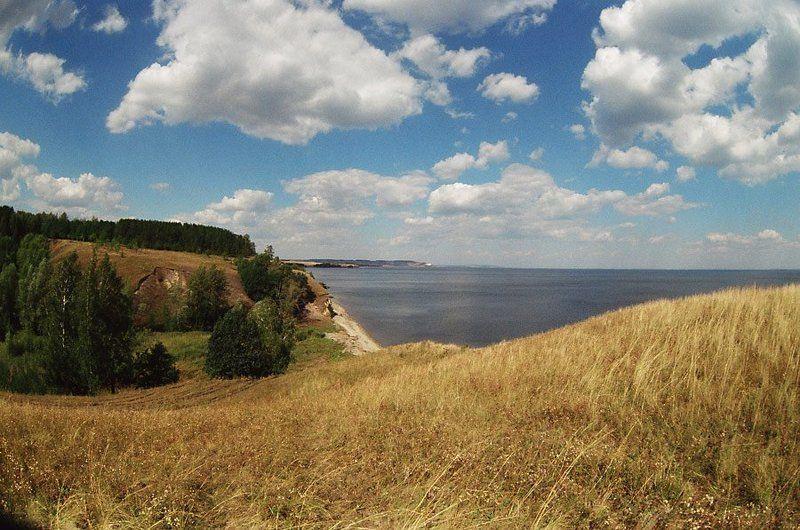 волга, пейзаж Средняя Волгаphoto preview