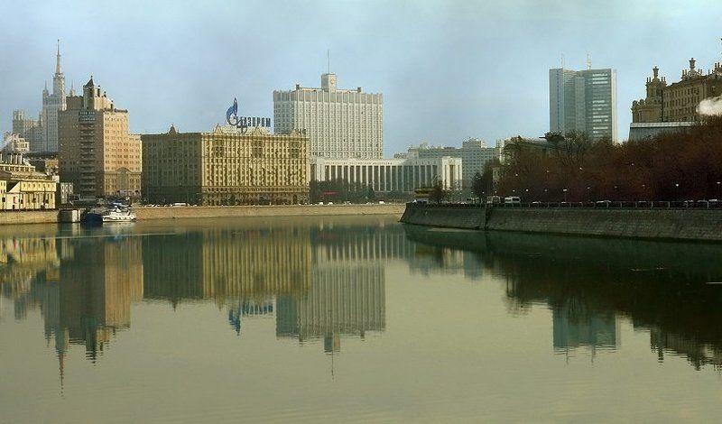 москва, город, река, утро Московское утроphoto preview