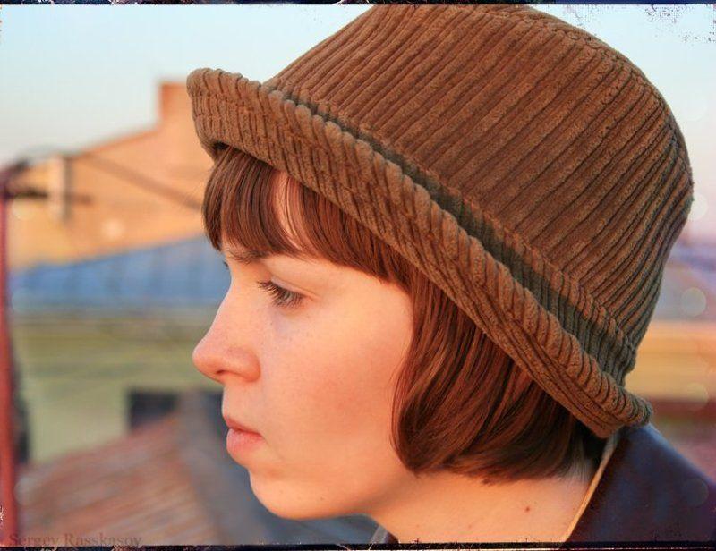 закат, петербург, солнце, девушка Она смотрела на закат..photo preview