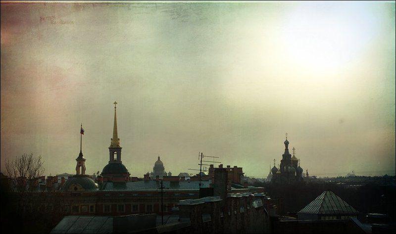 спас-на-крови, исаакиевский собор, адмиралтейство, михайловский замок, петербург, вечер Они стояли.. в фас..photo preview