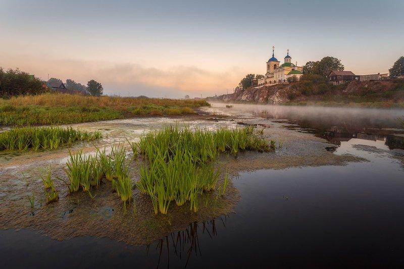 урал, чусовая, рассвет Утро в селе Слободаphoto preview