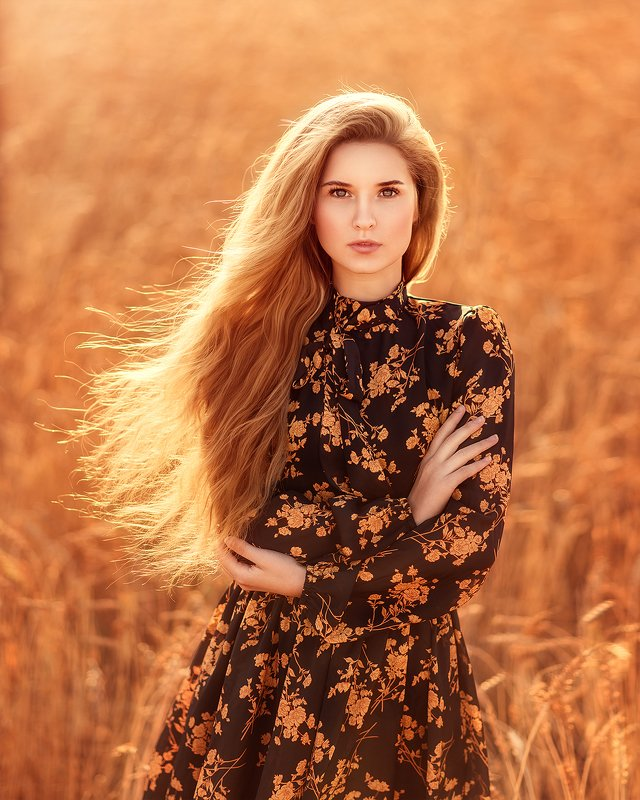 девушка, блондинка, поле, лето, сказка, кораблик, портрет, sunrise, portrait, field, outdoor, blondhair, blond, blue, summer, wheat photo preview