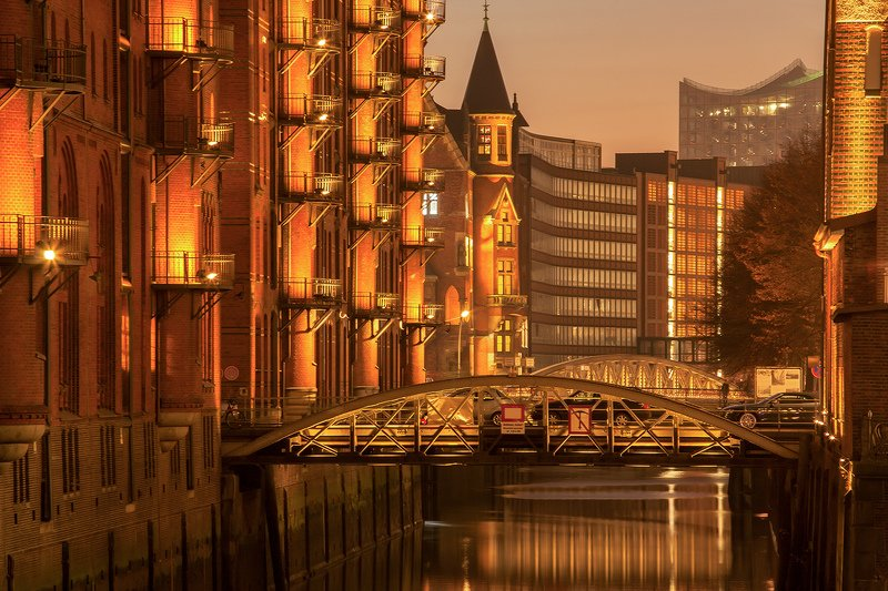 гамбург, speicherstadt photo preview
