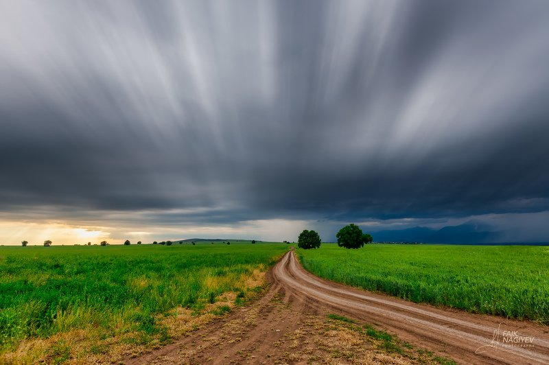 Сельская дорогаphoto preview