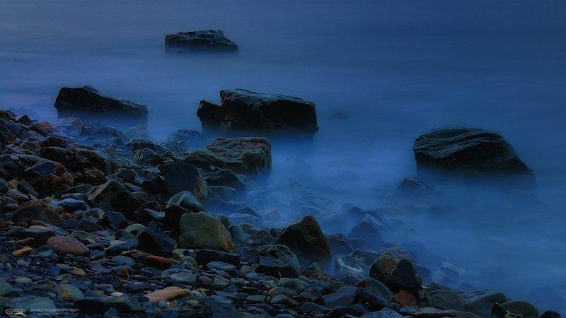 камни море сумерки лето Еще про камни...photo preview