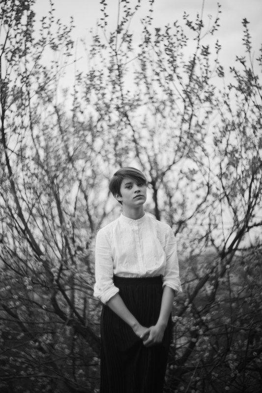 портрет,чб,девушка Kaiserwaldphoto preview