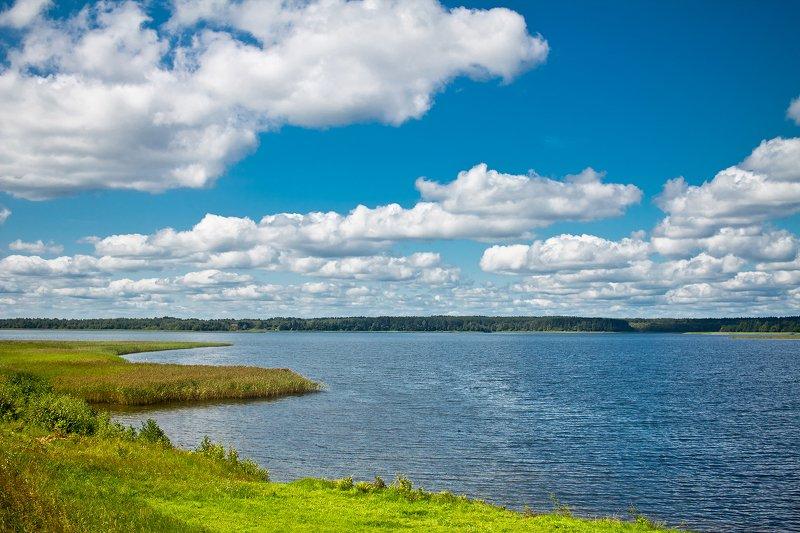 природа, озеро, север, лето, небо озеро Ороноphoto preview