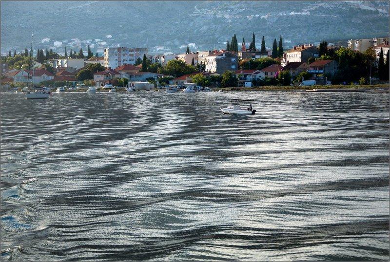 море волны рябь ветер хорватия Волны на мореphoto preview