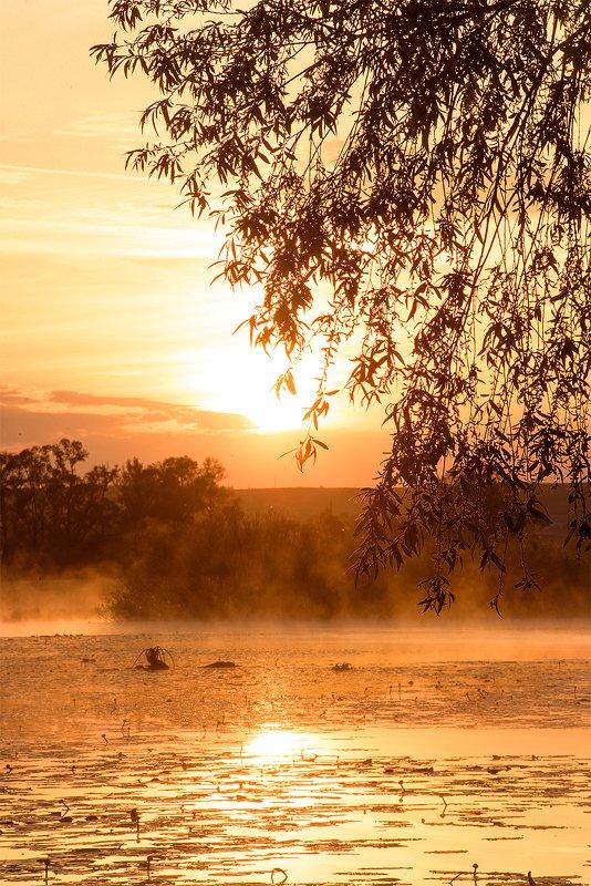 утро на рекеphoto preview