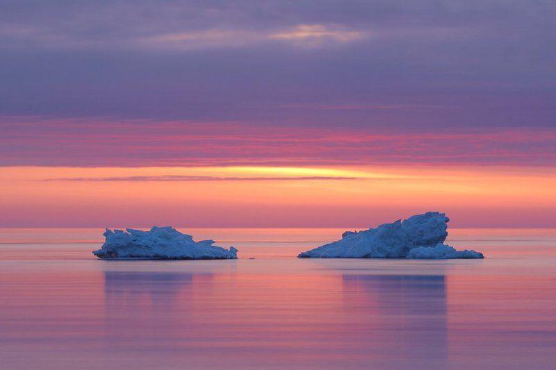 север, море Летний берегphoto preview