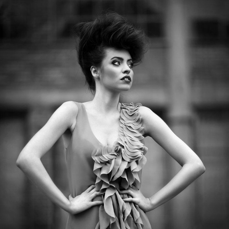 model, fashion, woman, exterior ...photo preview
