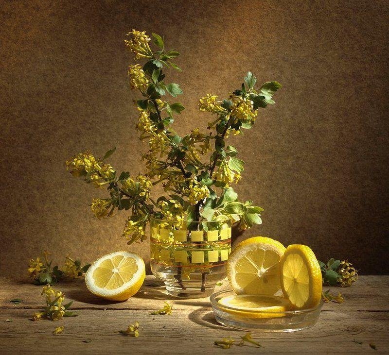 Натюрморт в жёлтых тонахphoto preview