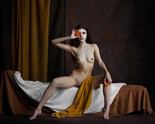 Ноктюрн с апельсином.