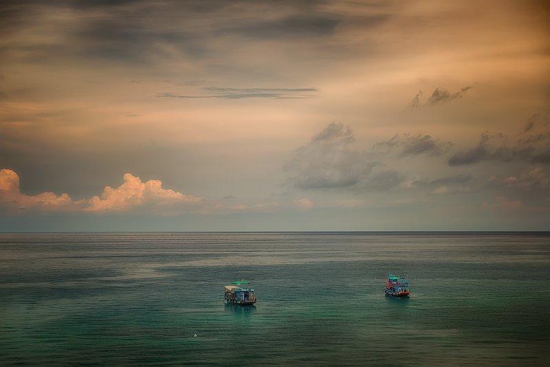 пейзаж, морской, шторм, небо, азия, трэвел, корабли, море, Корабли...photo preview