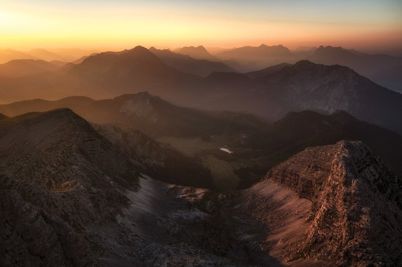 @landscape @mountains @sunrise Warscheneckphoto preview