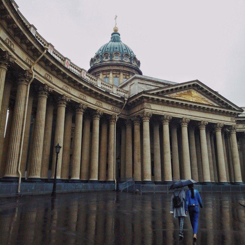 Казанский в дождьphoto preview
