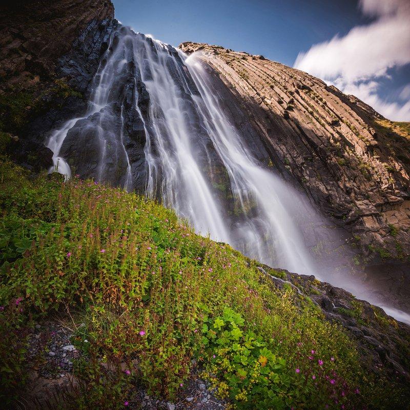 кавказ Водопад Терсколphoto preview
