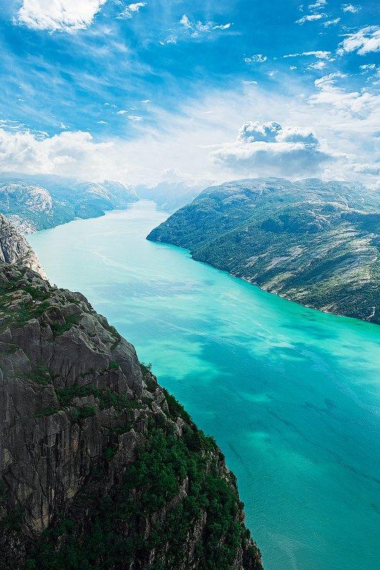 preikestolen, norway, fjord, прейкестолен, норвегия, фьорд [preikestolen]photo preview