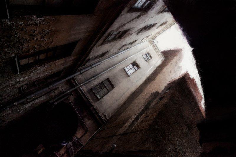 питер, санкт-петербург. город, архитектура, арт, компьютерная графика. цифровое искусство, евгений корниенко Питер арт 2photo preview