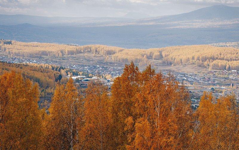 осень, лес, природа, урал, златоуст \